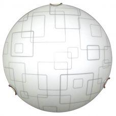 Светильник НПБ 01 60 130 Оазис d250 М15 1х60Вт E27 IP20 мат. бел. /клипса зол., 1005204960, Элетех