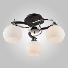Потолочный светильник 9654/3 хром/венге, Eurosvet