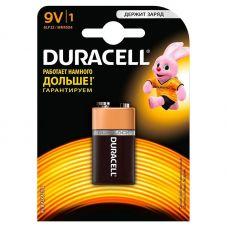 Батарейка Duracell Базис 9V Крона, 6LR61 6LF, уп/1 шт