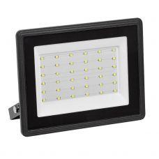 Прожектор светодиодный 50Вт 4000К 4000 лм СДО 06 50 IP65 черный LPDO601 50 40 K02 IEK
