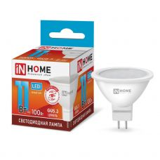 Лампа светодиодная IN HOME LED JCDR VC GU5.3 11W 4000К 820Лм 4690612020358