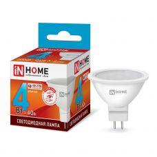 Лампа светодиодная IN HOME LED JCDR VC GU5.3 4W 4000К 310Лм 4690612030692