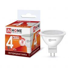 Лампа светодиодная IN HOME LED JCDR VC GU5.3 4W 6500К 310Лм 4690612030715