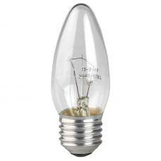 Лампа накаливания ДС 60 Вт, E27, свеча