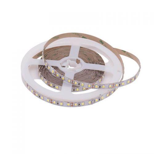 Лента светодиодная открытая 12 Вт/м, 12 В, 120 LED/м, SMD 2835, IP20, цвет: Белый холодный, 01577, уп/5 м, SWG