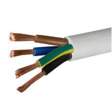 Провод ПВС 4х4 мм², белый, ГОСТ