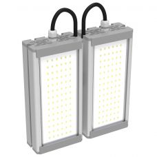 Светильник светодиодный уличный 64 Вт 9680 лм SVT STR M 32W DUO, крепление Универсальное