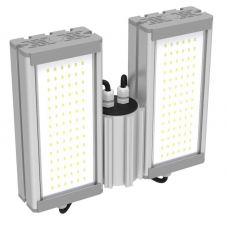 Светильник светодиодный уличный 64 Вт 9680 лм SVT STR M 32W DUO C (с защитой от 380), крепление Консоль