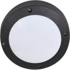 Светильник накладной B4139S, GX53, круг, без решетки, цвет черный, арт. FB53SSECS, IP65, Ecola
