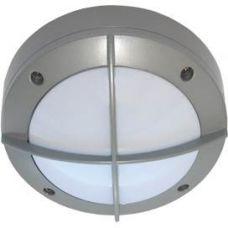 Светильник накладной B4143S, GX53, круг, с решеткой, цвет серый, арт. FS53CSECS, IP65, Ecola