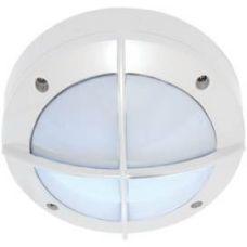 Светильник накладной B4143S, GX53, круг, с решеткой, цвет белый, арт. FW53CSECS, IP65, Ecola