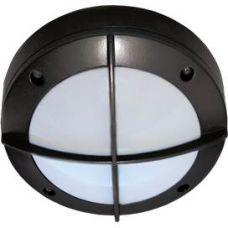 Светильник накладной B4143S, GX53, круг, с решеткой, цвет черный, арт. FB53CSECS, IP65, Ecola