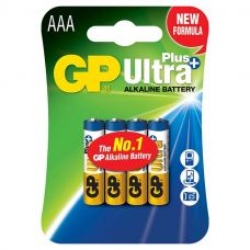 Батарейка GP Ultra Plus 24AUP LR03/286, AAA/LR03, уп/4 шт