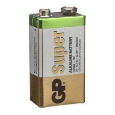 Батарейка GP 9V Крона, 1604A/6LR61, уп/1 шт