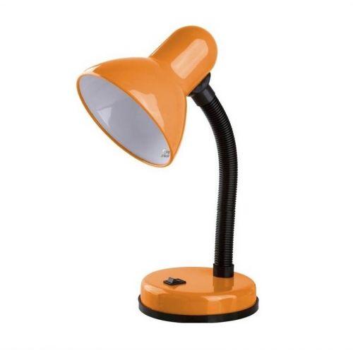 Светильник настольный Uniel TLI 204, 60 Вт, E27, металл, оранжевый