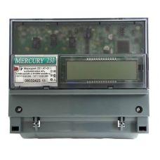 Счетчик трёхфазный многотарифный Меркурий 231 AT 01 I, 5(60) А, класс точности 1, ЖКИ, инфрак. порт