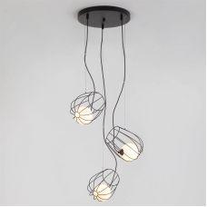 Подвесной светильник 50138/3 черный, Eurosvet