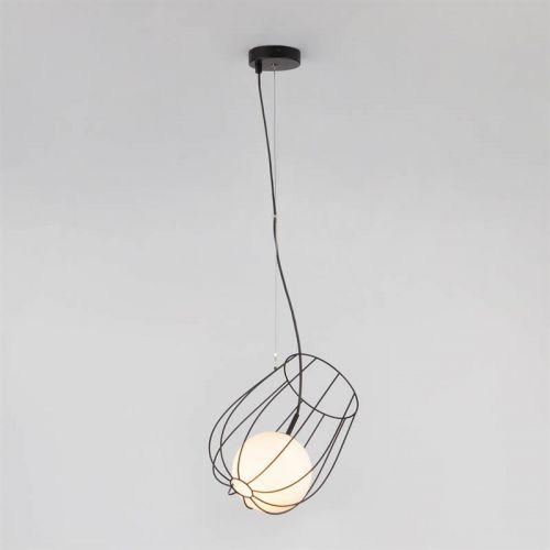 РАСПРОДАЖА Подвесной светильник 50139/1 черный, Eurosvet