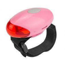 Фонарь велосипедный задний JY 269T, 2 LED, 2 режима, 4xCR2032, красный цвет, арт. 560082, STELS
