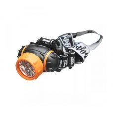 Фонарь налобный Трофи TG7, 7 LED, 3xAAA, 4 режима, пластик
