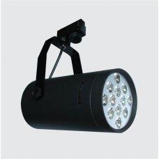 Светильник трековый светодиодный 12 Вт, черный металл, 4500К, SW Group