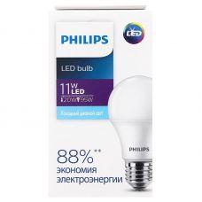 Лампа светодиодная Philips EcoHome LEDbulb 11W E27 6500K A60 груша 9290022998/8719514273504