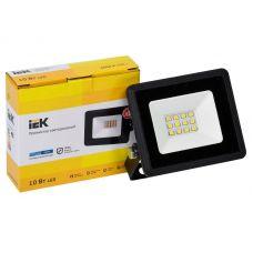 Прожектор светодиодный 10Вт 6500К СДО 06 10 IP65 800лм черный LPDO601 10 65 K02