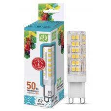 Лампа LED JCD standard, 5 Вт, 4000 К, G9, 450 лм, 230 В, ASD