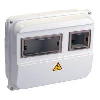 Корпус навесной ЩУРн П 1/3, IP55, пластик, белый, MSP103 1 55, IEK