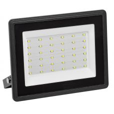 Прожектор светодиодный 50Вт 6500К СДО 06 50 IP65 черный LPDO601 50 65 K02 IEK