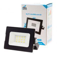 Прожектор светодиодный 10Вт 6500К VLF7 10 6500 mini B IP65 черный VKL electric