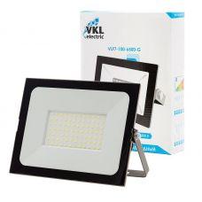 Прожектор светодиодный 100Вт 6500К VLF7 100 6500 G IP65 серый VKL electric