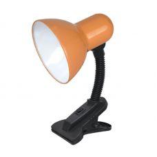 Светильник настольный СНП 01О на прищепке 40Вт E27 ОРАНЖЕВЫЙ 4690612012780 IN HOME