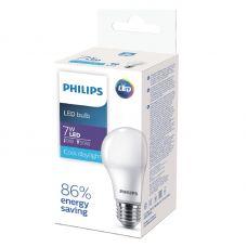 Лампа светодиодная Philips EcoHome 7W E27 6500K A60 груша 929001955207/8718699639679
