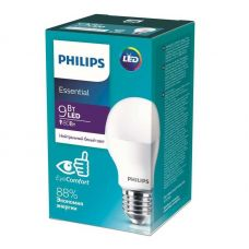 Лампа светодиодная Philips ESSENTIAL 9W E27 4000K A60 груша 929001962887/871869961618200