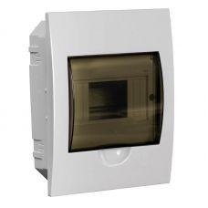 Корпус встраиваемый ЩРВ П 6, IP41, пластик, белый, прозрачная дверь, MKP12 V 06 40 20, IEK