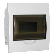 Корпус встраиваемый ЩРВ П 8, IP41, пластик, белый, прозрачная дверь, MKP12 V 08 40 20, IEK
