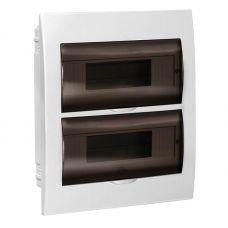 Корпус встраиваемый ЩРВ П 24, IP41, пластик, белый, прозрачная дверь, MKP12 V 24 40 10, IEK