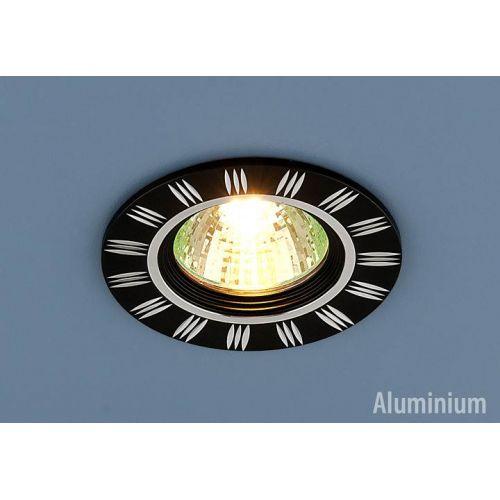 РАСПРОДАЖА Светильник точечный 5814 MR16 BK/CH, черный / хром, ELEKTROSTANDARD
