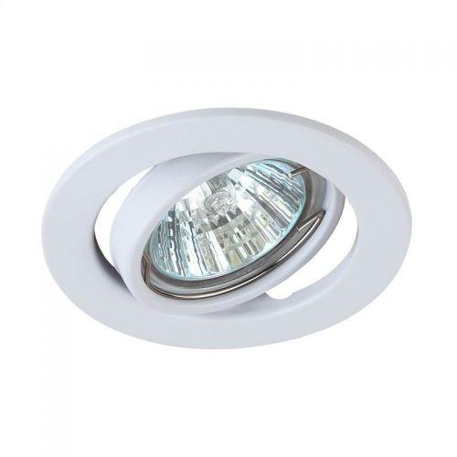 РАСПРОДАЖА Светильник встраиваемый Эра ST2A WH, C0043805, поворотный, MR16, патрон GU5.3, 12/220 В, 50 Вт, Белый