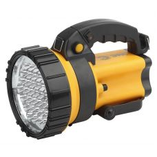 Фонарь прожектор PA 603 АЛЬФА, 36 LED, литий 3Ач, ЗУ 220V+12V, ЭРА