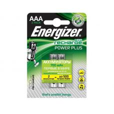 Аккумулятор Energizer Power Plus AAA/HR03, 700 mAh, уп/2 шт, цена за упаковку