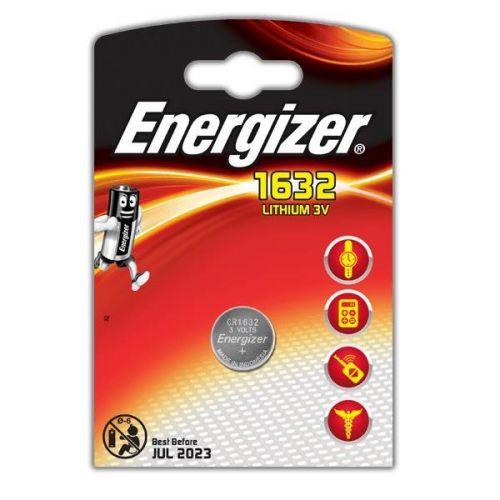 Батарейка Energizer Lithium CR1632, уп/1 шт