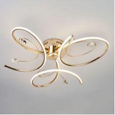 Светодиодный потолочный светильник 90099/3 золото, Eurosvet