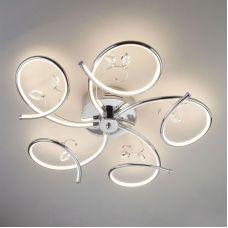 Светодиодный потолочный светильник 90089/5 хром, Eurosvet