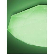 Светильник управляемый светодиодный ALMAZ 25W RGB R 340 SHINY/WHITE 220 IP44 потолочный, ESTARES