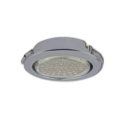 РАСПРОДАЖА Светильник встраиваемый Ecola DL, FC53DLECC, патрон GX53, для твер.поверх. и мебели, Хром