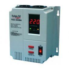 Стабилизатор напряжения электронно релейный Solpi M TSD 500mini, однофазный