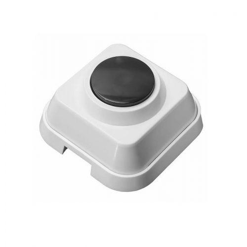 Кнопка звонковая, арт. A10 4 011, ОП, белый корпус, Schneider Electric