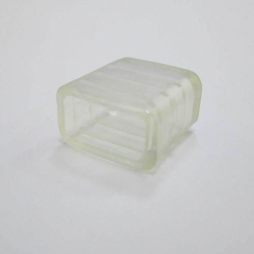 Заглушка торцевая для ленты 220 В, SMD 5050, SCCA14ESB, уп/10 шт, Ecola